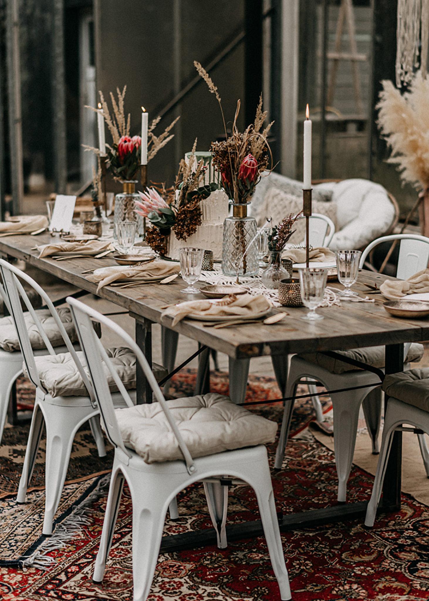 Boho Hochzeit Möbel